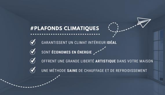 Plafonds climatiques avantages