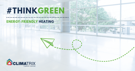 Think green energy friendly heating